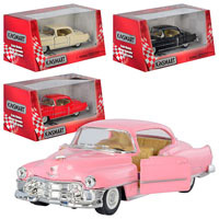 "Машинка Kinsmart KT 5339 W ""Cadillac Series 62 Coupe 1953"" (1:43)"